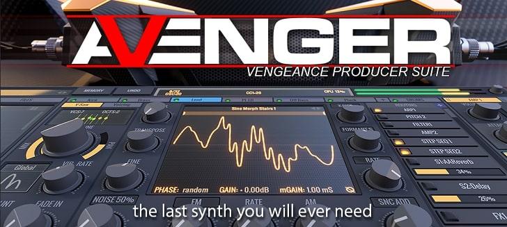 دانلود نسخه جدید وی اس تی Vengeance Producer Suite Avenger v1.4.10 WiN Fixed ایرادگیری شده و سالم
